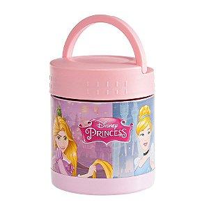Frasco Termico Inox Princesas com Alça - 300ml