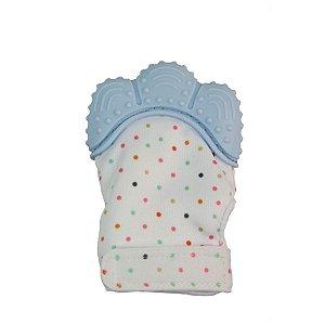 Luva Mordedor Azul Girotondo Baby