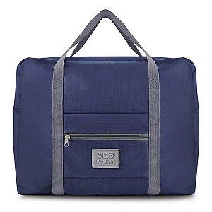 Bolsa de Viagem Dobrável - Azul