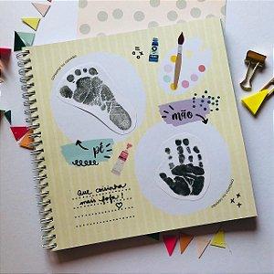 Álbum do Bebê - AMARELO