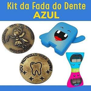 Kit Fada do Dente - AZUL