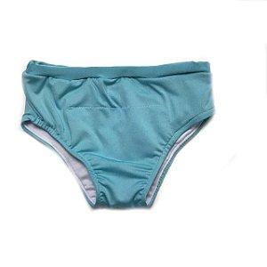 Fralda para piscina reutilizável FPU 50 - Azul Claro