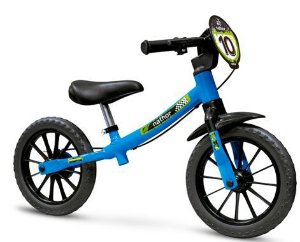 Bicicleta de Equilíbrio Balance -  Azul e Verde