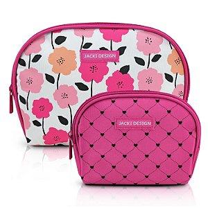 Kit de Necessaire de 2 Peças PINK LOVER - Pink