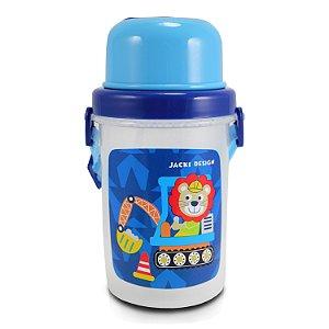 Squeeze 450ml Infantil - Macaco FILHOTINHOS - Azul