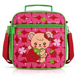 Lancheira Térmica Infantil - Urso FILHOTINHOS - Pink