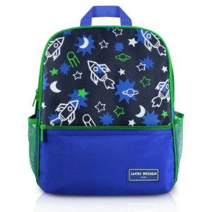 Mochila Escolar - Foguete SAPEKA - Azul