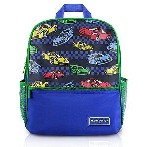 Mochila Escolar - Carro SAPEKA - Azul