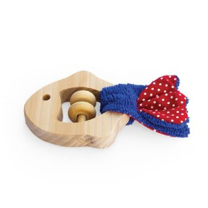 Brinquedo Sensorial de Madeira - Peixe