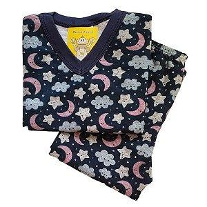 Pijama Infantil Flanelado - 1 ao 3 - Noite Encantada 2