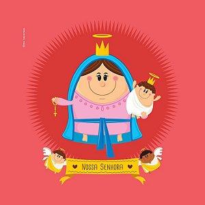 Capa de Almofada Nossa Senhora - Coisa de Santo