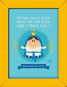 Quadrinhos Nossa Senhora das Graças - Coisa de Santo