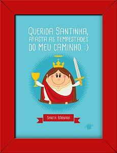 Quadrinhos Santa Bárbara - Coisa de Santo