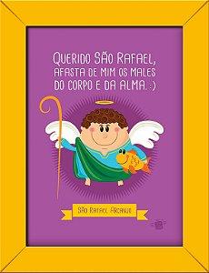 Quadrinhos São Rafael Arcanjo - Coisa de Santo