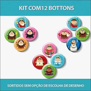 Kit de Bottons - Coisa de Santo