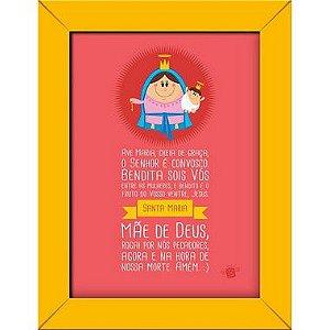 Imagem impressa em papel fotográfico - Ave Maria