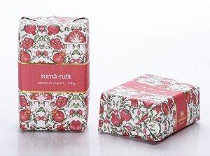 SABONETE VEGETAL ROMÃ-RUBI - 180G