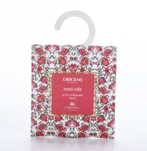 Sachê perfumado Romã-Rubi - 80ml