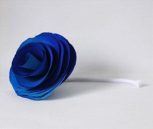 Flor com cordão para difusor - AZUL
