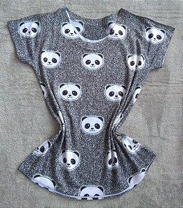 Blusa Feminina Para Revenda Pandas Rostos