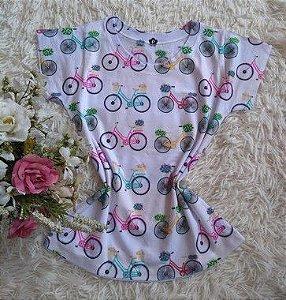 Blusa Feminina no Atacado Bikes Coloridas