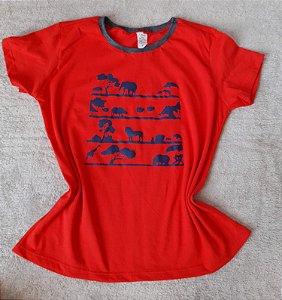 T-Shirt Feminina no Atacado Selva