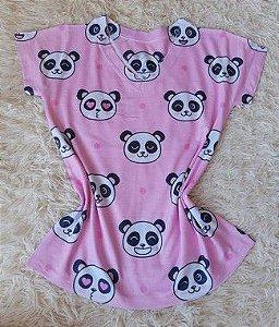 TShirt Feminina no Atacado Pandas Fofos