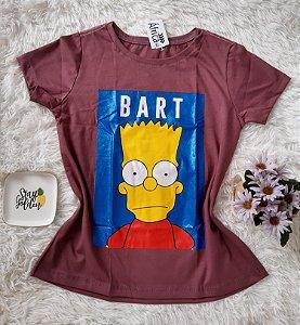 T-Shirt Feminina No Atacado Bart