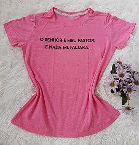 Blusa Feminina no Atacado Meu Pastor Rosa