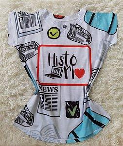T-Shirt Profissão No Atacado História