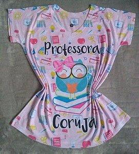 T-Shirt Profissão No Atacado Professora Coruja