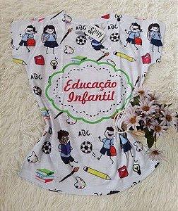 Blusa Feminina no Atacado Educação Infantil