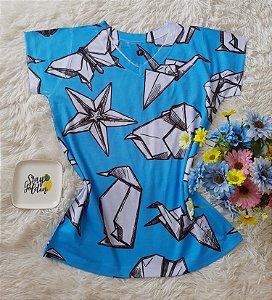 T-Shirt Feminina no Atacado Origame