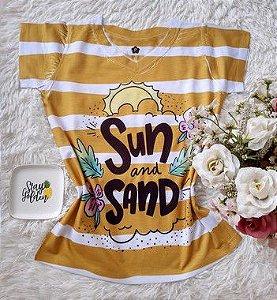 T-Shirt Feminina no Atacado Sun and Sand