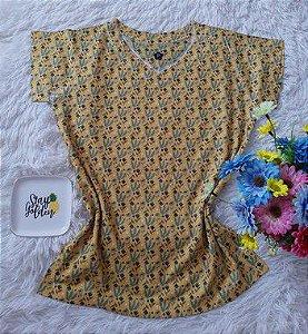 T-Shirt Feminina no Atacado Plantas