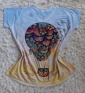 Blusa Feminina Para Revenda Balão Colorido