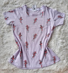 T-shirt  feminino no atacado  penelope charmosa lilas