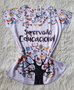 T-Shirt Feminina No Atacado Supervisão Educacional