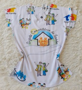T-Shirt Profissão no Atacado Agente Comunitário de Saúde