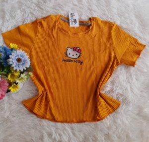 Cropped no Atacado Hello Kitty