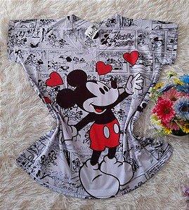 Blusa Feminina no Atacado Mickey Grande