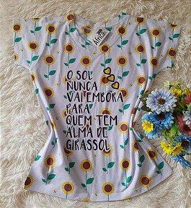 Blusa Feminina no Atacado Sol e Girassol