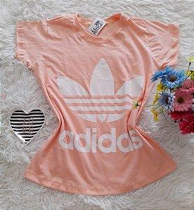 T-Shirt Feminina  Adidas salmon