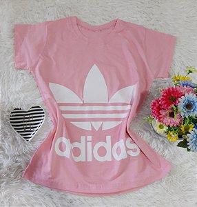 T-Shirt Feminina  Adidas Rosa