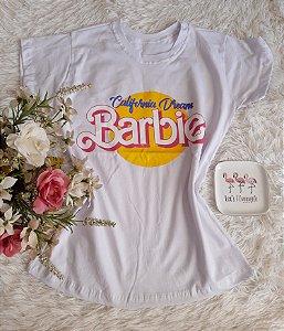 T-Shirt Fminina No Atacado Barbie Branco
