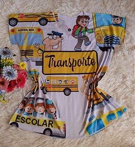 T-Shirt Profissão Transporte Escolar