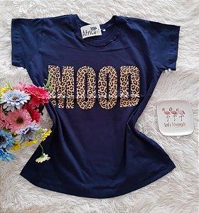 T-Shirt Feminina No Atacado Mood Fundo Marinho