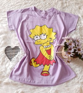 T-Shirt Atacado Lisa Lilás