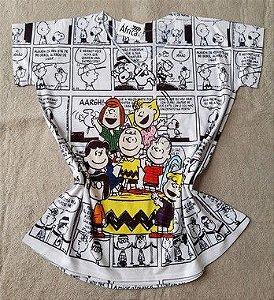 Tee Feminina no Atacado Turma Snoopy Charlie Brown