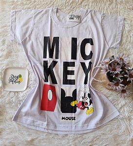 Camiseta no Atacado Mickey Mouse Branca